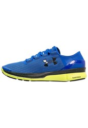 Under Armour Speedform Turbulence Ct Lightweight Running Shoes Ultra Blue Flash Light Black