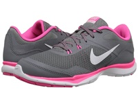 Nike Flex Trainer 5 Cool Grey Lava Glow Dark Grey White Women's Cross Training Shoes Gray