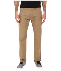 Oakley 50'S Melange Stretch Twill Pants New Khaki Dark Heather Men's Casual Pants Beige