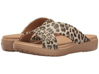 Crocs Sloane Graphic Xstrap Leopard Women's Sandals Animal Print
