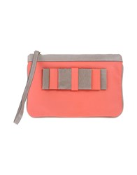 Galliano Handbags Coral