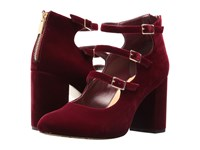 Bella Vita Nettie Burgundy Velvet High Heels