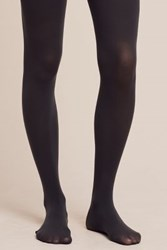 Anthropologie Opaque Tights Grey