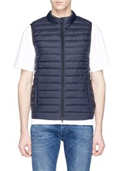 Ecoalf 'Cardiff' Down Puffer Vest Blue