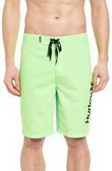Hurley Men's One And Only 2.0 Board Shorts Neon Green