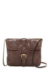 Ugg Cortona Leather Clutch Gray