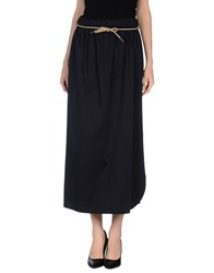 Ql2 Quelledue Ql2 Quelledue Skirts Long Skirts Women Dark Blue