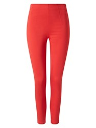 Phase Eight Amina Zip 7 8Th Jeggings Red