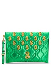 Moschino Dollar Sign Clutch 60