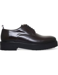 Eytys Kingston Leather Derby Shoes Wine