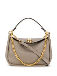 Mulberry Small Leighton Shoulder Bag Grey