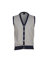 Henry Cotton's Knitwear Cardigans Men Grey