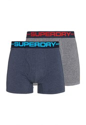 Superdry Sport Boxer Double Pack Grey