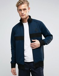 Converse Micro Dot Track Jacket In Blue 10003392 A02 Blue