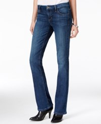 Guess Tailored Blue Waltz Wash Mini Bootcut Jeans