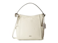 Lauren Ralph Lauren Gladstone Zip Top Hobo Vanilla Hobo Handbags Bone