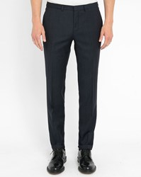 Hugo Hugo Boss Blue Mix Wool Dress Trousers