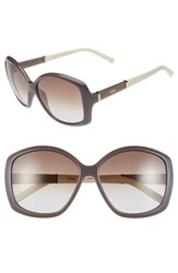 Chloe Women's Chloe 'Daisy' 58Mm Sunglasses Turtle Dove