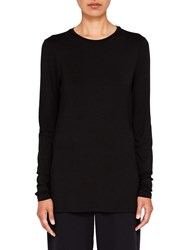 Ted Baker Says Relax Rojo Fitted Long Sleeve Top Black