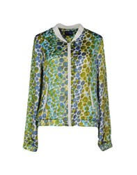 Anonyme Designers Coats And Jackets Jackets Women Acid Green