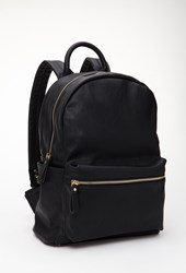 Forever 21 Classic Faux Leather Backpack