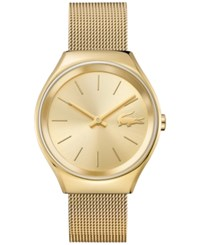 Lacoste Women's Valencia Gold Tone Stainless Steel Mesh Bracelet Watch 38Mm 2000952