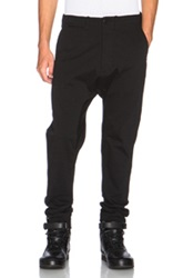 Nlst Single Panel Chinos In Black