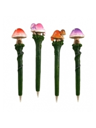 Toadstool Pens Set Of 4 Only 19.99 Unique Gifts And Home Decor Karma Kiss