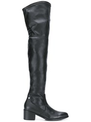 Tommy Hilfiger Thigh High Boots Black