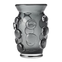 Aerin Abel Vase Ink Grey