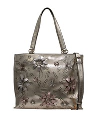 Chinese Laundry Hayley Floral Tote Champagne