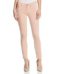 Paige Verdugo Ankle Jeans In Faded Pink Petal Faded Petal Pink