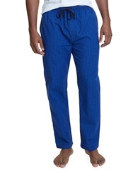 Nautica Plaid Cotton Pajamas Cobalt