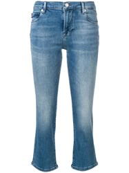 Love Moschino Slim Cropped Jeans Blue