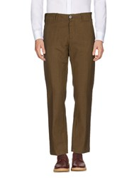 Pomandere Casual Pants Military Green
