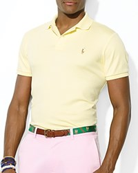 Ralph Lauren Soft Touch Slim Fit Polo Wicket Yellow