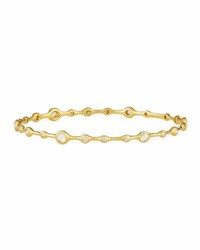 Ippolita Stardust Superstar 18K Gold 24 Diamond Bangle