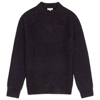 Reiss Cook Ribbed Crew Neck Jumper Navy