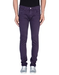 Htc Denim Denim Trousers Men Mauve