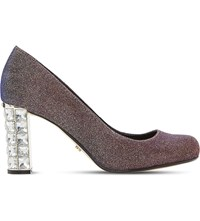 Dune Bindy Metallic Court Shoes Multi Metallic Fabric