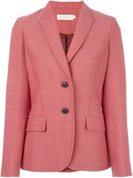 Tory Burch 'Fatino' Riding Jacket Red