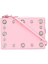 Versus Studded Cross Body Bag Pink Purple