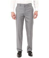 Dockers Flat Front Straight Fit Dress Pants Light Grey Men's Casual Pants Gray