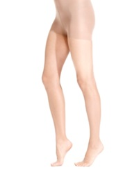 Hanes Sheer Silk Reflections Ultra Sheer High Waist With Control Top Hosiery Barely There