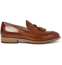 Paul Smith Haring Polished Leather Tassel Loafers Brown