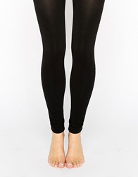 New Look 200 Denier Footless Tights Black