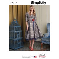 Simplicity Sew Chic Women's Dress Sewing Pattern 81657