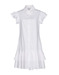 Daizy Shely Short Dresses White