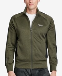 Polo Ralph Lauren Sport Men's Tech Fleece Track Jacket Green