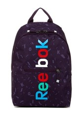 Reebok Bts Graphic Aop Logo Backpack Purple